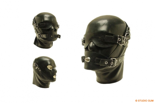 Discipline Latex Mask DM3
