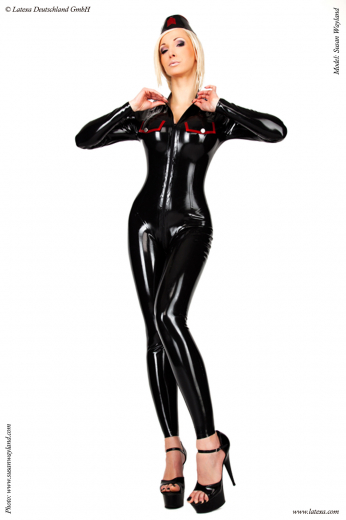 Catsuit Army-style for ladies