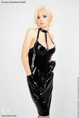 Minidress with buckles