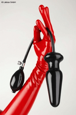 Inflatable but plug