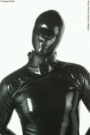 Mask with perf. openings