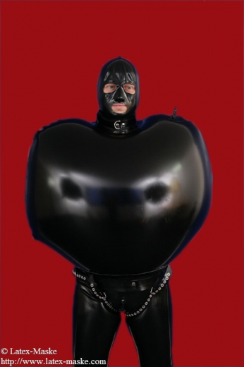 Inflatable bondage jacket