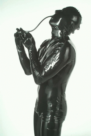 Catsuit with feet and gloves