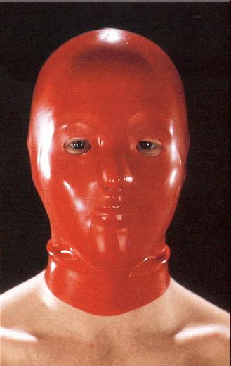 Anatomical hood for men