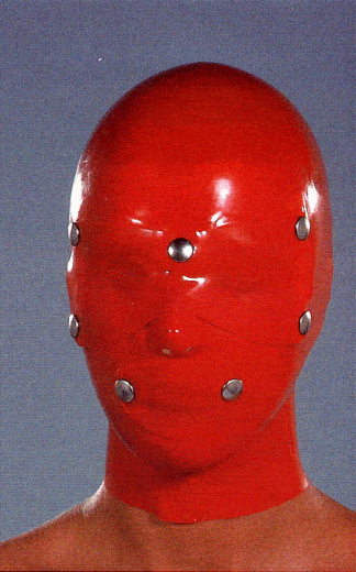 Mask with patches for eyes and mouth patch