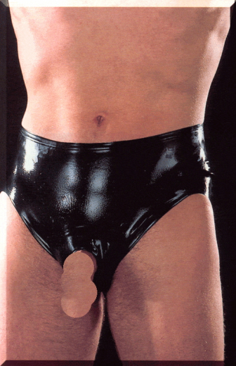Men`s pants with erection ring