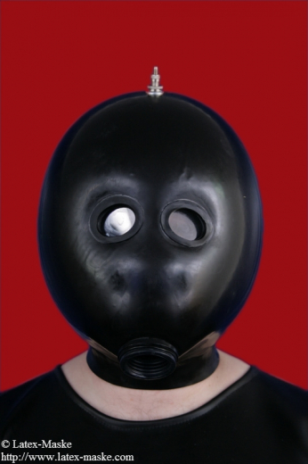 Inflatable Latex Mask