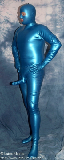 Catsuit w. feet, glove, mask a. anat. Penis