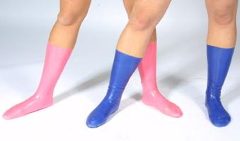 Latex Socks