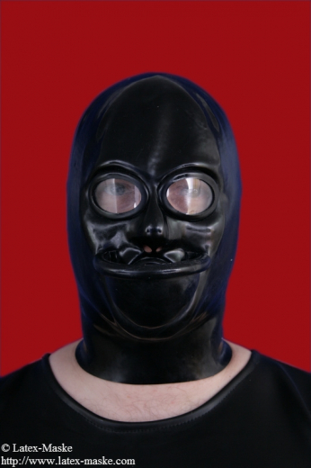 Mask with urinal and ring gag