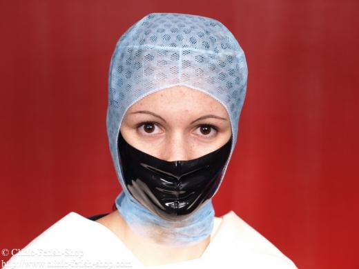 Latex face-mask