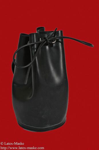 Latex belt bag big