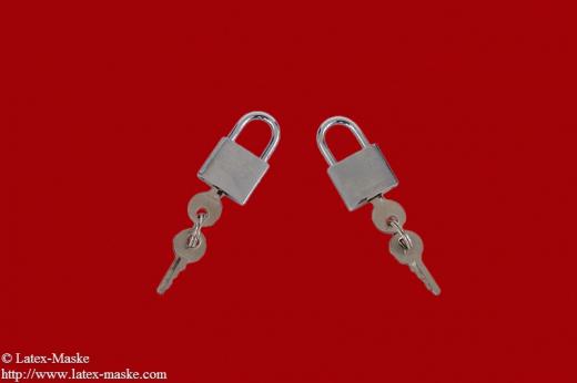 Lock chromium-plated