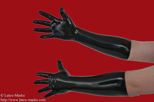 Gloves elbow long of Fetisso