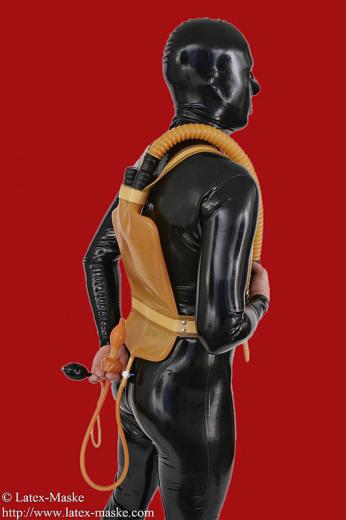 Enema-Backpack