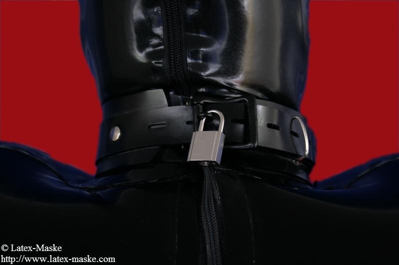 Inflatable Bondage Jacket - Latex-Maske-8525