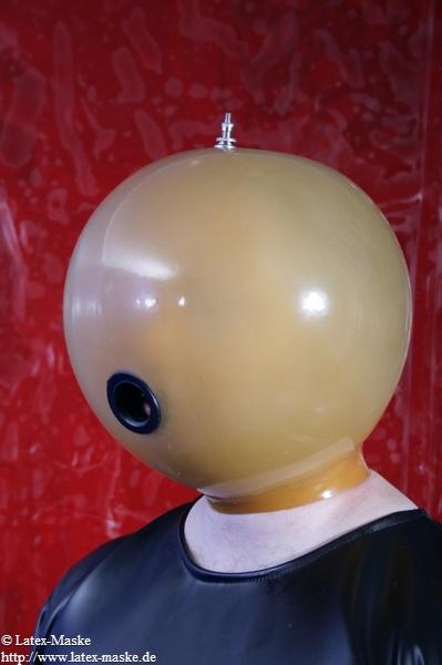 Aufblasbare Maske