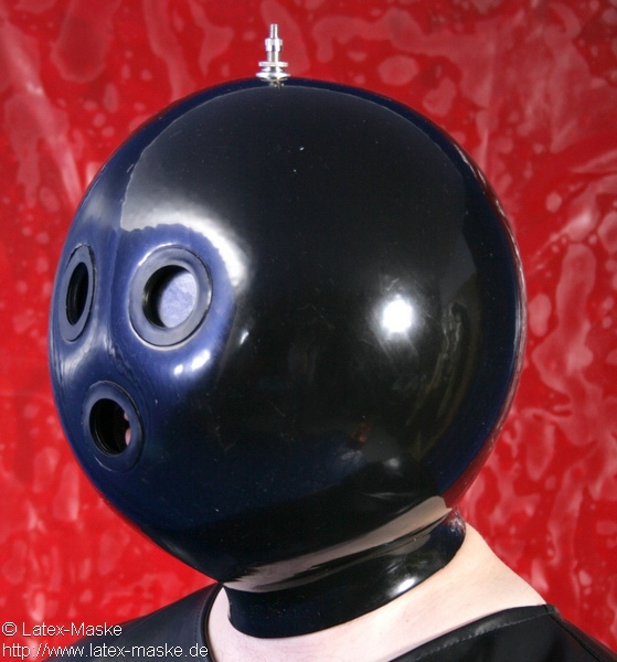 Inflatable Latex Mask With Air Pump Latex Maske