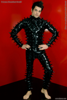 Catsuit for men with spikes