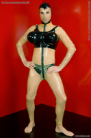 Transvestite bra inflatable