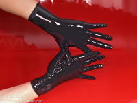 Latex gloves 100 black
