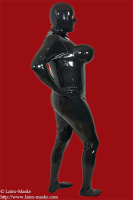 Ladies Torpedo Catsuit with inflatable breast