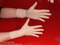 Profi Examination glove, latex powder free, not sterile, length of 28 cm